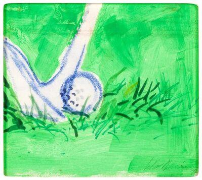 LeRoy Neiman, 'Green Iron', 1991