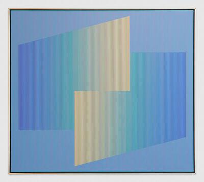 Julian Stanczak, 'Meeting', 1987