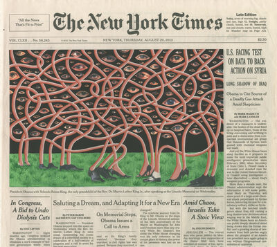 Fred Tomaselli, 'Aug. 29, 2013', 2014