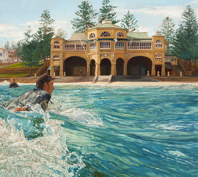 Marcus Beilby, 'Winter Surf at the Teahouse', 2013