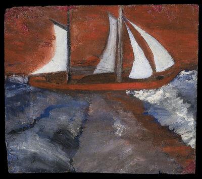 Frank Walter, 'Sailboat and Hurricane Sky', Undated