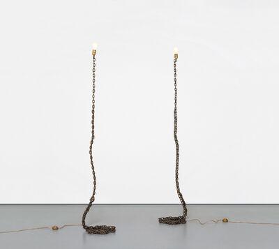 Franz West, 'Two works: (i-ii) Privat-Lampe des Künstlers II', 1989