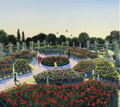 Emma Haworth, 'The Rose Garden', 2020