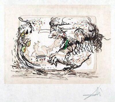 Salvador Dalí, 'La télévision (The Television)', 1966