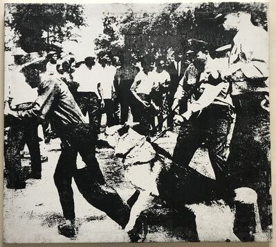 "Andy Warhol, '""Little Race Riot"" Attributed to Warhol.', 1964"