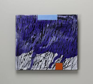 Jun Kaneko, 'Small Raku Wall Slab 16-05-26', 2016