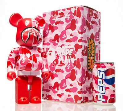 BE@RBRICK, 'Shark Hoddie 400% with BAPE Pepsi Cans (Red),', 2001 ; 2015