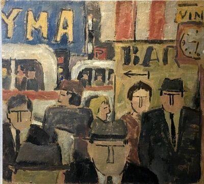 Julio Alpuy, 'Escena de ciudad'