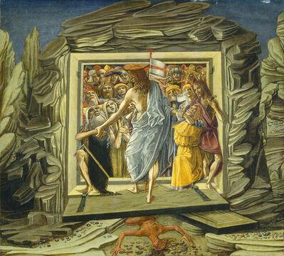 Benvenuto di Giovanni, 'Christ in Limbo', probably 1491