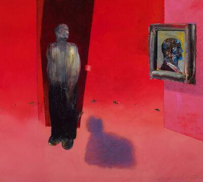 Richard T Smith, 'Self Portrait in Red ', ca. 2019