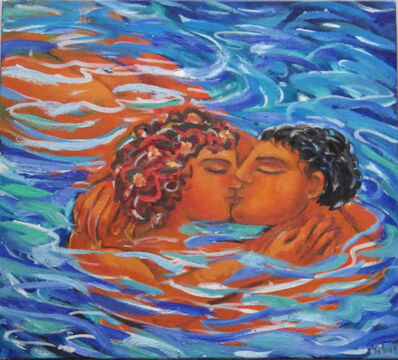 Luis Castellanos Valui, 'The Water Kiss'