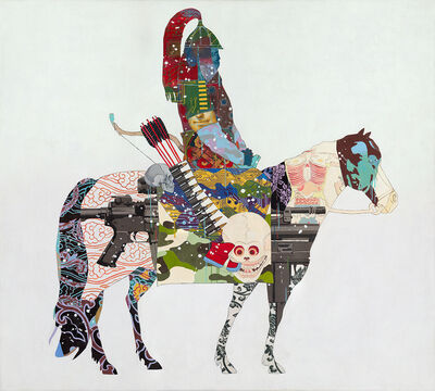 Zorikto Dorzhiev, 'The Silk Way (L)', 2017