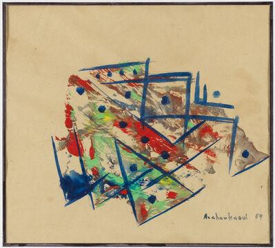 Ahmed Cherkaoui, 'Untitled', 1959