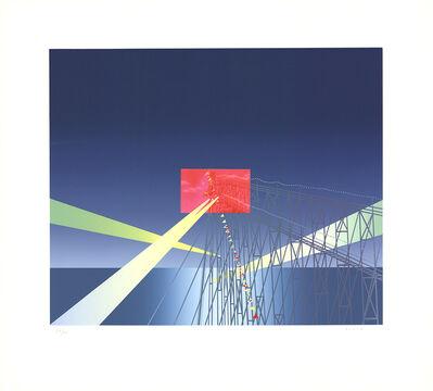 Jean Michel Folon, 'I'm Writing From Coney Island'