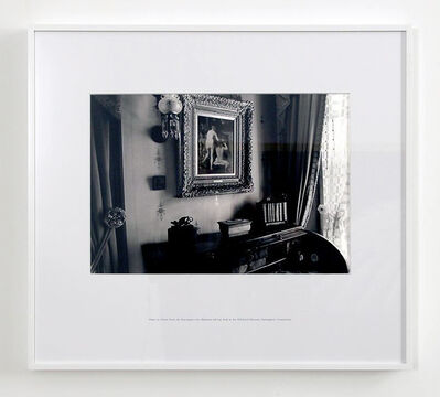 Louise Lawler, 'Arranged by Mr. and Mrs. Alfred Atmore Pope or Their Daughter Theodate (Puvis de Chavannes Over Sheraton Roll top desk)', 1983