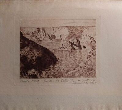 Claude Monet, 'Rochers de Belle-Isle', 1878