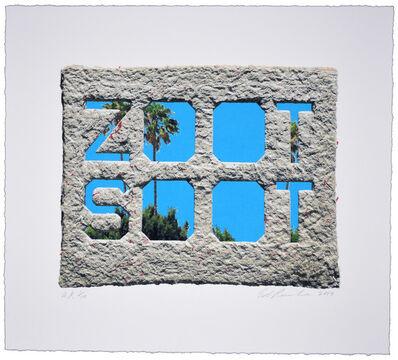 Ed Ruscha, 'Zoot Soot (Dedicated to the memory of Richard Duardo)', 2019