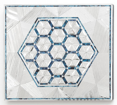 Monir Farmanfarmaian, 'Variation of Hexagon', 2013