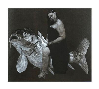 Ahmad Saber, 'Woman & Fish', 2020