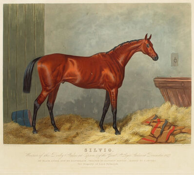 Edward Gilbert Hester after Harry Hall, 'Silvio', 1877