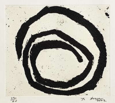 Richard Serra, 'Venice Notebook 2001, #6 (G. 1914, B.-W. 150)', 2002