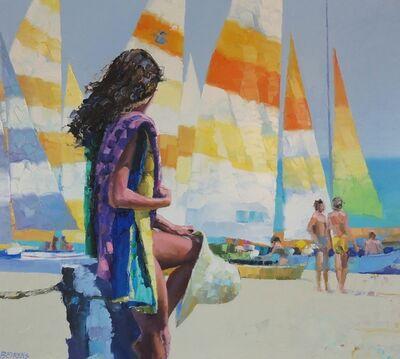 Howard Behrens, 'Watching the Sailboats'