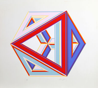 Al Loving, 'Triangular Cube', ca. 1970
