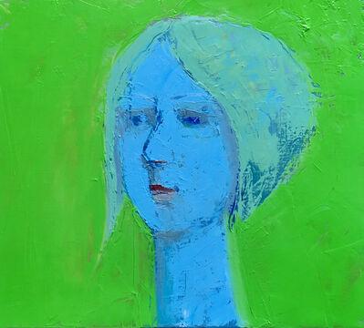 Jonathan Sobol, 'Blue Lady', 2019