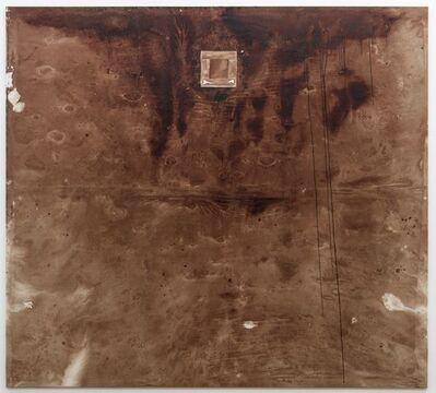 Hermann Nitsch, 'Relikt (Stiertragetuch, 155. Aktion)', 2018