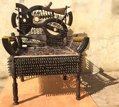 Gonçalo Mabunda, 'Untitled (Throne)'