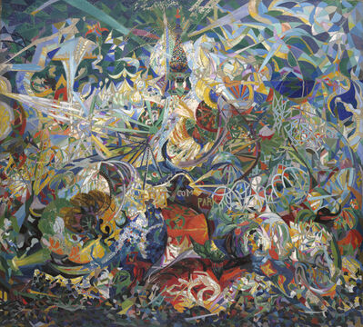 Joseph Stella, 'Battle of Lights, Coney Island, Mardi Gras', 1913-1913