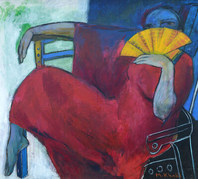 Mohamed Saleh Khalil, 'Woman and Hand Fan', 2010