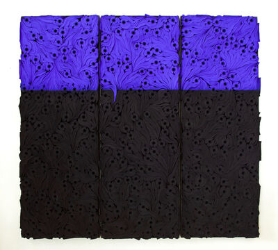 Jae Ko, 'JK2102 Ultramarine Blue with Black', 2020