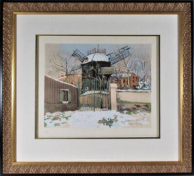 Maurice Utrillo, 'Le Moulin de la Galette, Montmartre', 1922