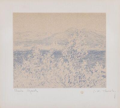 Claude Monet, 'Vue depuis le Cap d'Antibes (Lugt 225d)', circa 1892