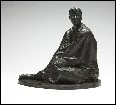 Felipe Castaneda, 'Felipe Castaneda Original Bronze Female Hand Signed Sculpture Authentic Artwork', 1999