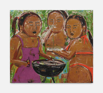 Monica Kim Garza, 'Sunday BBQ', 2020
