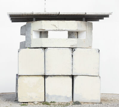 Oded Balilty, 'Front (Military Post, Netiv Ha'asara, Gaza Border)', 2017