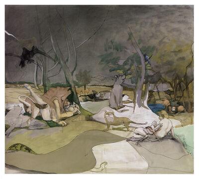 Siegfried Anzinger, 'Der Garten', 2010