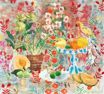 Melanie Parke, 'Melons and Orchids', 2016