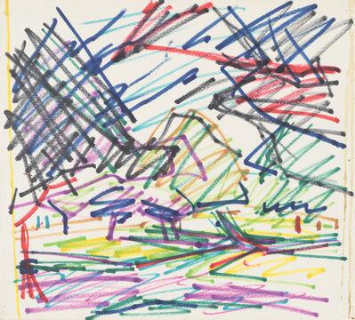 Frank Auerbach, 'Primrose Hill #17', 1979