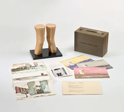 Claes Oldenburg, 'London Knees', 1966