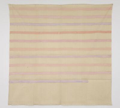 Giorgio Griffa, 'Strisce orizzontali', 1976