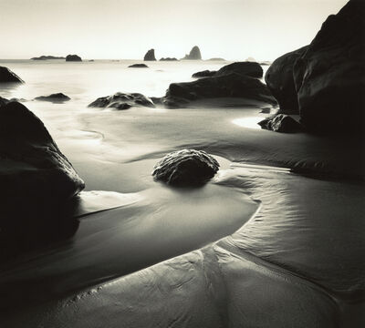 William Scott, 'Receding Tide, California Coast', 1996