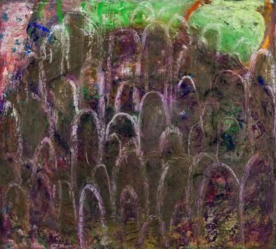 Alexandra Wiesenfeld, 'muddy crowd', 2017