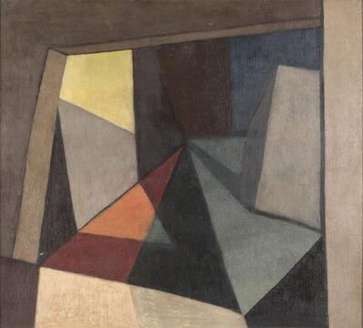 Emilio Pettoruti, 'Interiore', 1915
