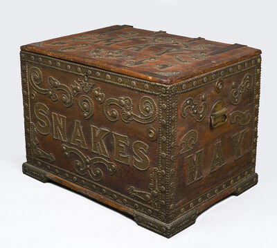 Anonymous, 'Snake chest', ca. 1890
