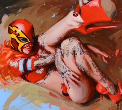 Chris Guest, 'Luchador', 2020