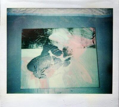 Andy Warhol, 'Unitled (Skull painting polaroid)', ca. 1976