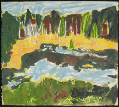 Barry Hodgson, 'Algoma Beaver Pond'